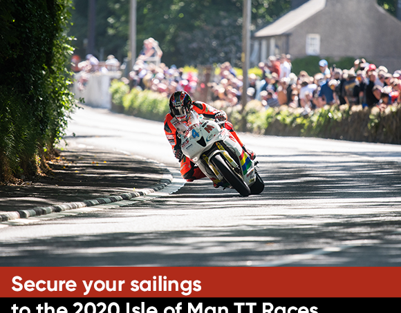 Provisional bookings for sailings to the2020 Isle of Man TT Races open on Monday 20thMay