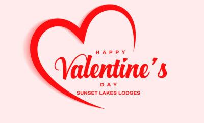 Valentines Day at Sunset Lakes Lodges