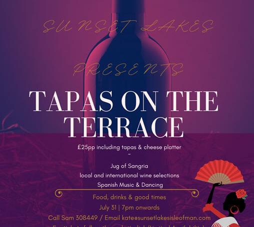 Sunset Lakes Presents Tapas On The Terrace